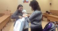 Малыши с юго-востока Украины получили полезные подарки