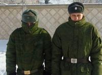 Российской армии запретили петь в холода