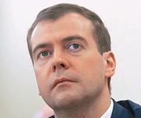 «ЕР» готова рассмотреть кандидатуру Медведева