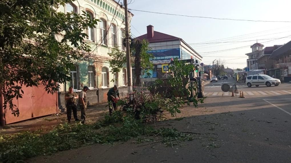 В Мичуринске коммунальщики трудятся в круглосуточном режиме