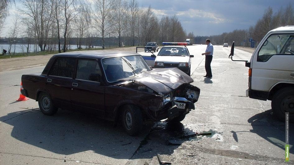 За неделю на Тамбовщине 4 человека погибли в ДТП