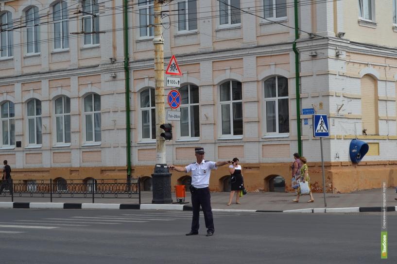 Центр Тамбова в День российского флага станет пешеходным