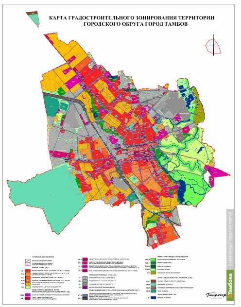 Тамбовские архитекторы забраковали планы чиновников застроить центр города высотками
