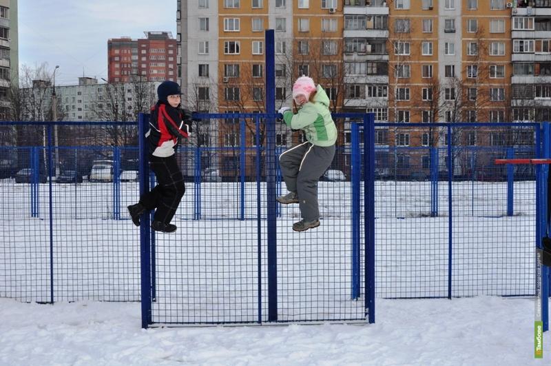 На стадионе школы №4 г. Тамбова построят теннисный корт