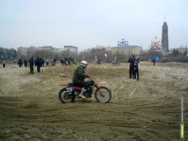 Мотоцикл тамбовского градоначальника увез Геннадий Плотников