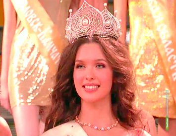 Самой красивой девушкой России стала Елизавета Голованова
