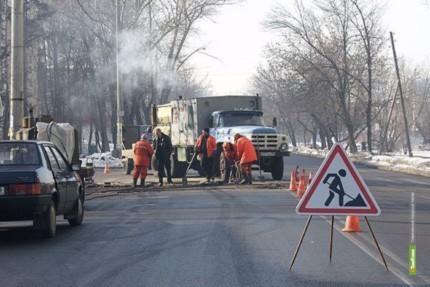 На тамбовской автотрассе ограничат движение транспорта