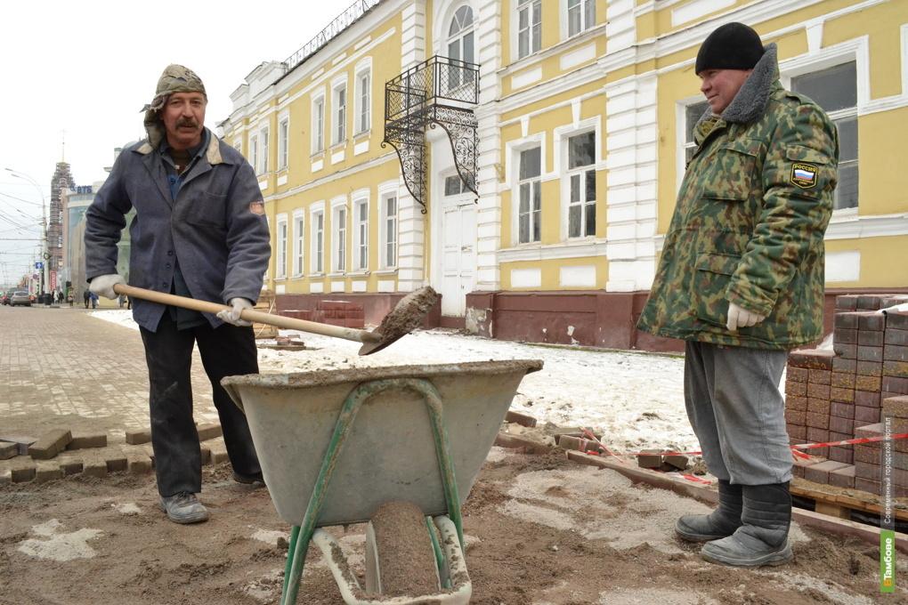 На благоустройство Тамбова потратят 666 млн рублей