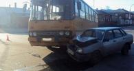 В Тамбове в ДТП попал пассажирский автобус