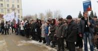 Тамбовчане приняли участие в закрытии Всероссийской акции «Вахта Памяти – 2014»