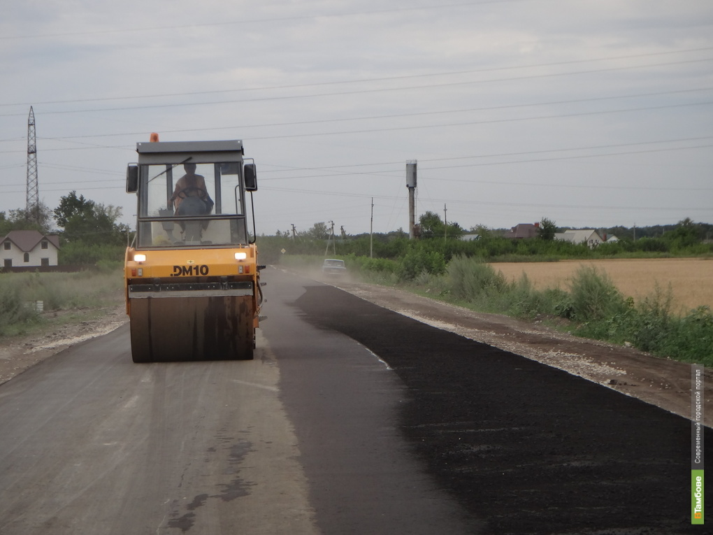 В Тамбове 680 млн. рублей потратят на дороги и инфраструктуру