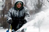 В пяти штатах Америки введен режим ЧС из-за снежной бури
