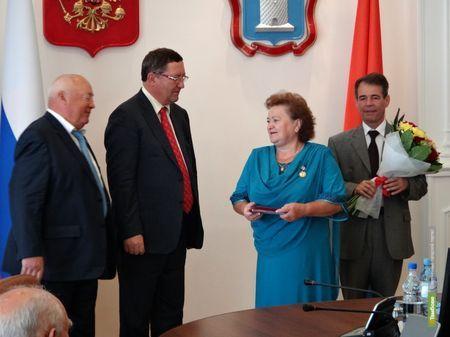 ВТамбове наградили Патриотов России