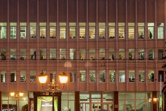Пушкинская библиотека приглашает тамбовчан на новогодний киносеанс