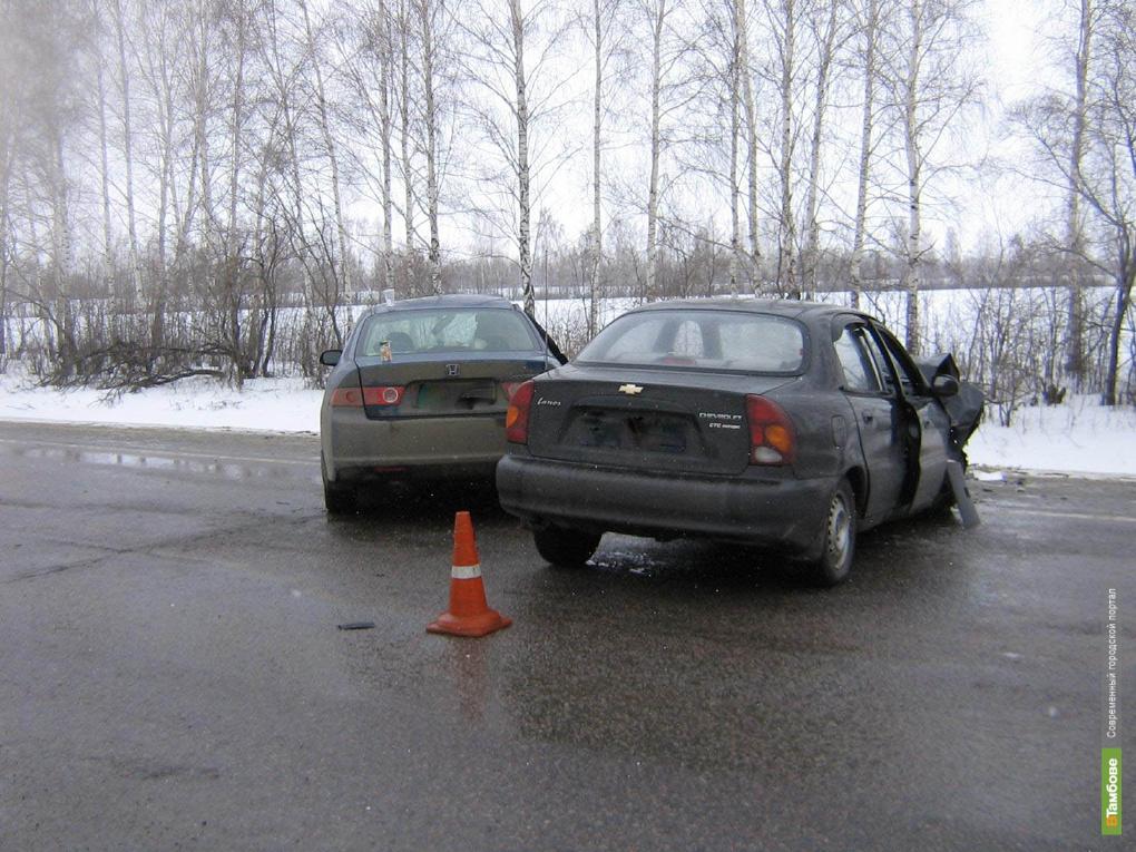 Пять человек пострадали в ДТП под Тамбовом