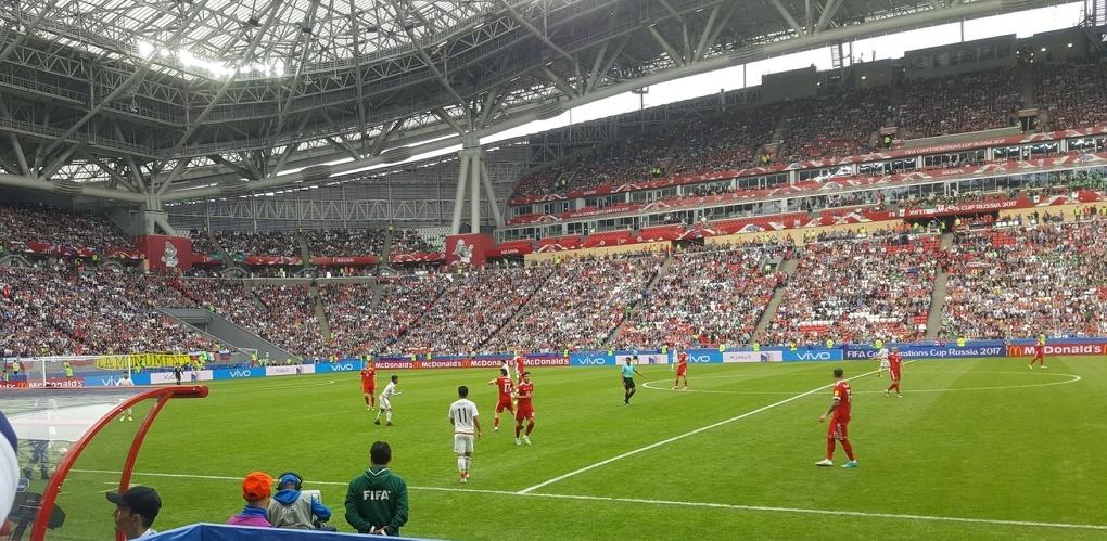 Сборная России вылетела с Кубка конфедераций