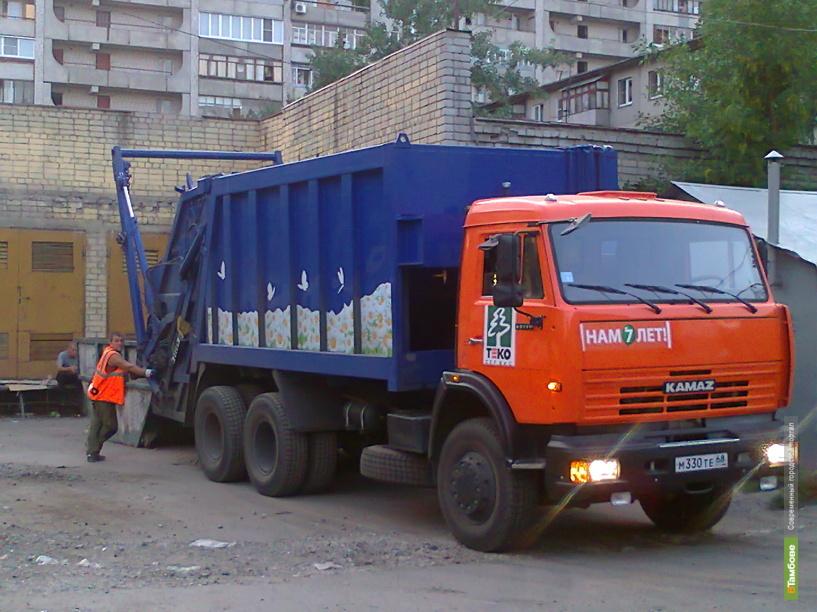 В Тамбове пройдет парад мусоровозов в ромашках