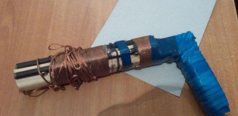Полицейские обнаружили самодельное оружие у двух жителей областей