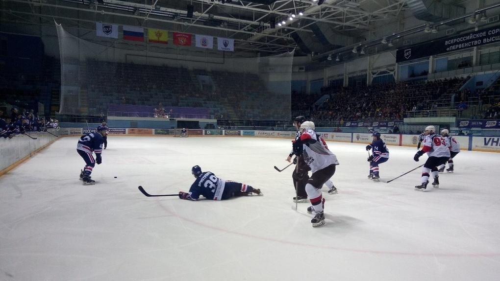 ХК «Тамбов» приближает победу в Кубке Федерации