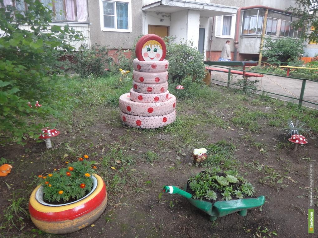Тамбовчане ради приза устроили апгрейд дворовых площадок