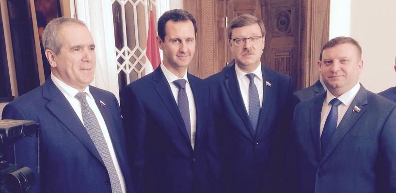 Тамбовский сенатор встретился с президентом Сирии