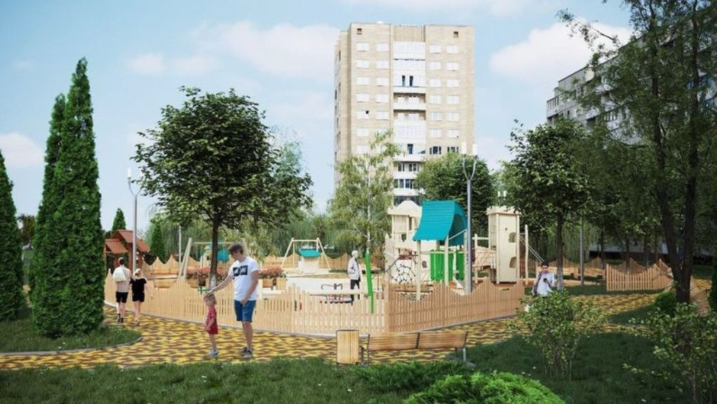 Название для обновленного деревянного детского городка на Набережной будут выбирать сами тамбовчане
