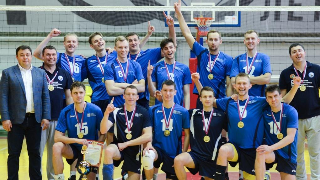 Чемпионы! ВК «Тамбов» завершил сезон победой