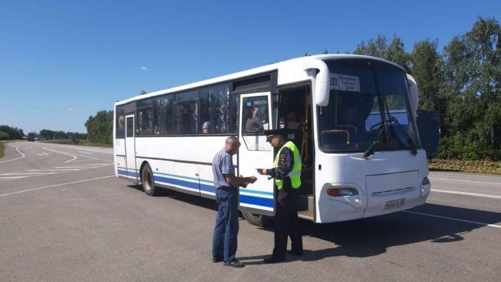 В Тамбовской области водителей автобусов проверят на соблюдение ПДД