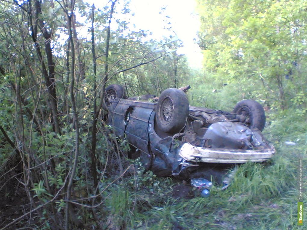 Женщина погибла автокатастрофе под Тамбовом