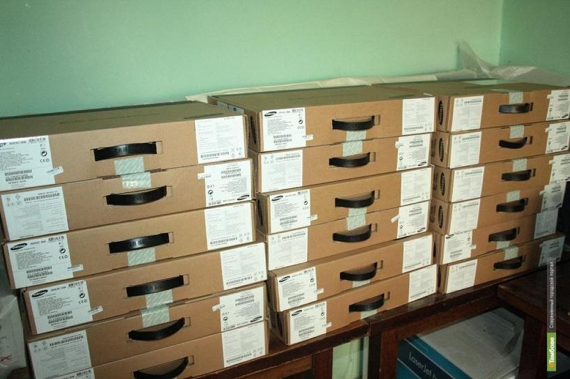 В Пушкинскую библиотеку Тамбова поступили ноутбуки для читателей