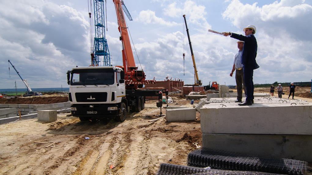 В микрорайоне «Телецентр» в Тамбове построят школу на 2425 мест