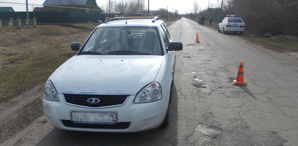В Кирсановском районе машина сбила шестилетнюю девочку