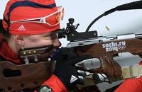 Биатлонистка Ольга Вилухина приносит России вторую олимпийскую медаль