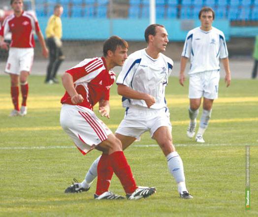 Тамбовские ветераны футбола обыграли липчан