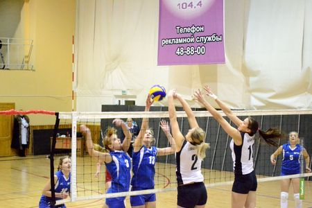 Чемпионкой региона по волейболу стала «Тамбовчанка-ТГУ»