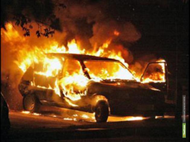В Первомайском машина взорвалась вместе с семьей из трех человек