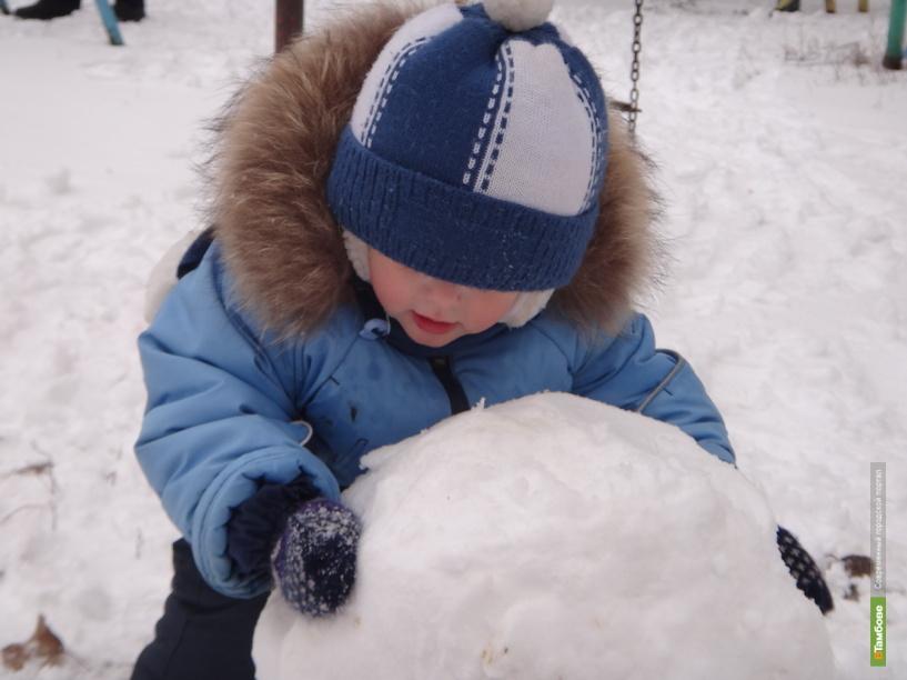Настоящая зима придет в Тамбов только на следующей неделе