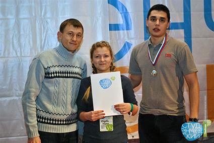 Державинцы взяли «бронзу» на Всероссийском студмарафоне