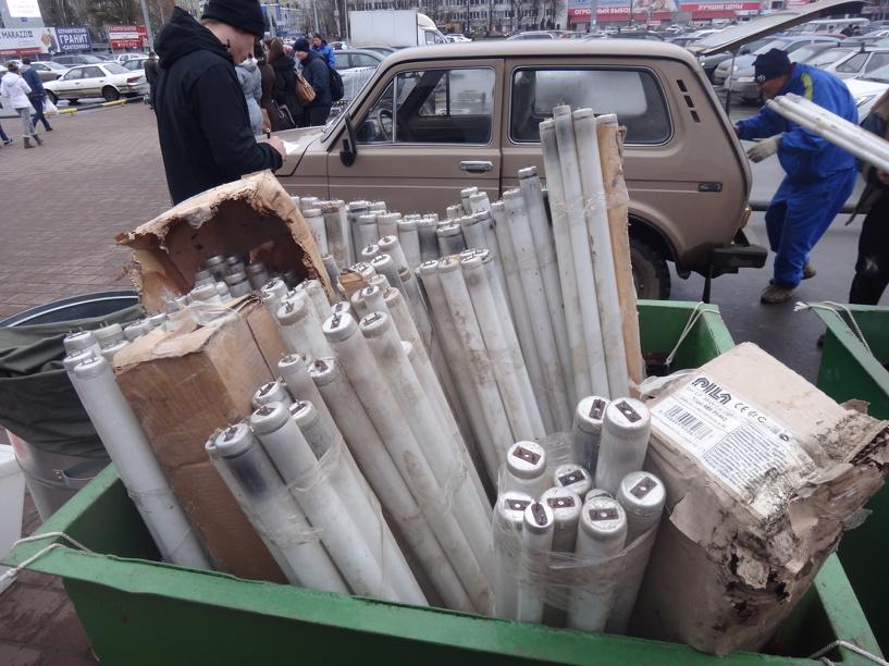 В регионе появятся спецконтейнеры для отработанных ртутных ламп