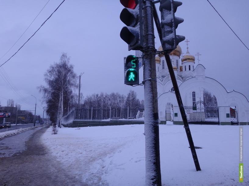 На тамбовских трассах установят светофоры