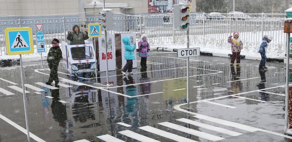 У школы Сколково будет свой автогородок с электромобилем