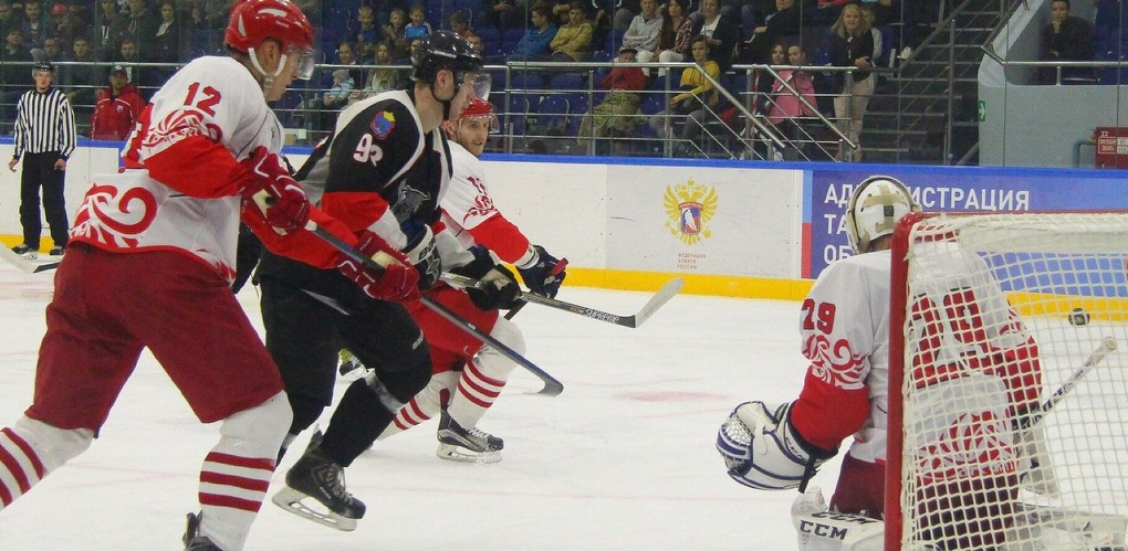 Одно поражение и одна победа: ХК «Тамбов» продолжает борьбу в Кубке губернатора