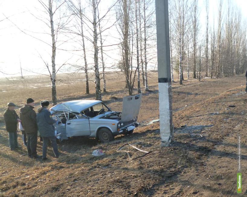 В Тамбовском районе в ДТП погибла женщина