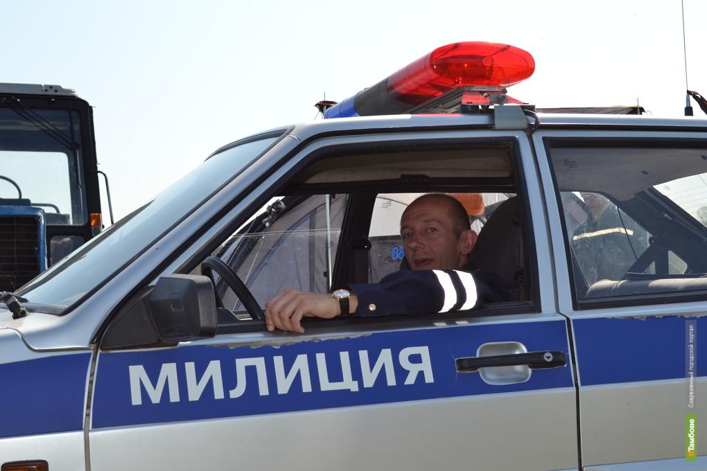 Тамбовские полицейские задержали угонщика
