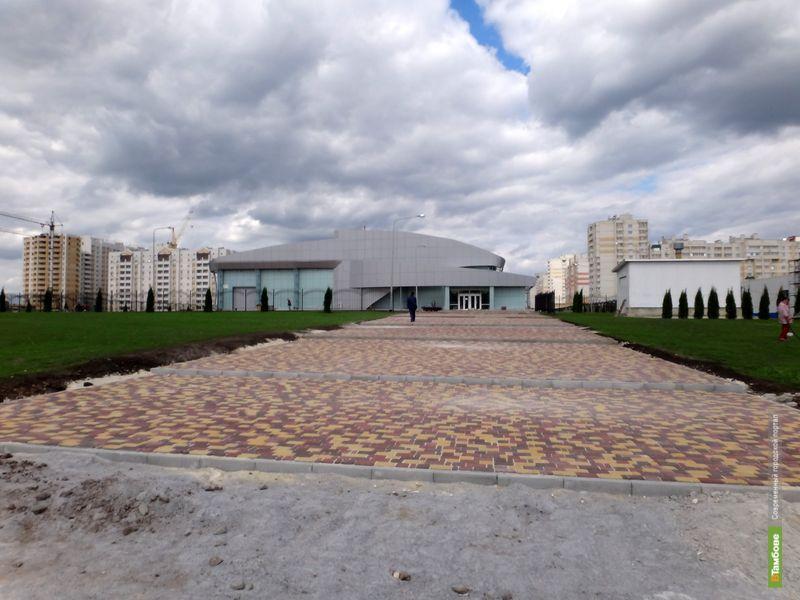 Открытие нового ледового дворца ВТамбове откладывается