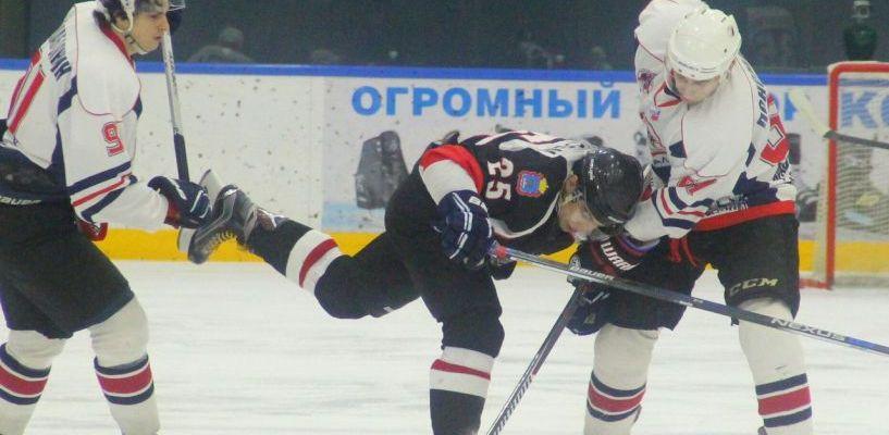 Тамбовские хоккеисты одержали вторую победу над соперником из Саратова