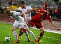 Россия разгромила Люксембург в отборочном матче на ЧМ-2014