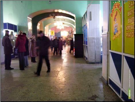 На тамбовском вокзале развели антисанитарию