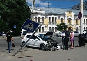 В Тамбовской области резко возросло количество ДТП по вине лихачей