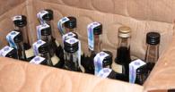 В Тамбове ликвидировали очередную точку по продаже контрафактного спиртного
